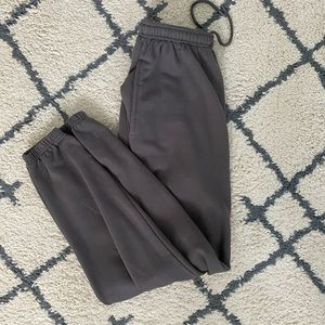 Pretty little thing grey joggers! WORN 1x